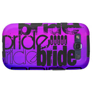 Bride; Vibrant Violet Blue and Magenta Galaxy S3 Cover