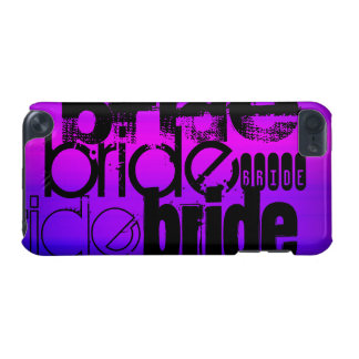 Bride; Vibrant Violet Blue and Magenta iPod Touch 5G Case