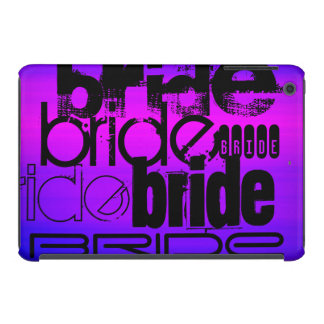 Bride; Vibrant Violet Blue and Magenta iPad Mini Retina Cover
