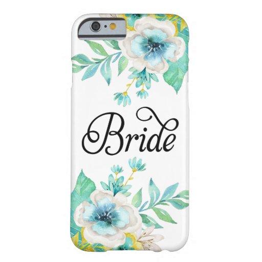Bride Vintage Floral iPhone 6 Case