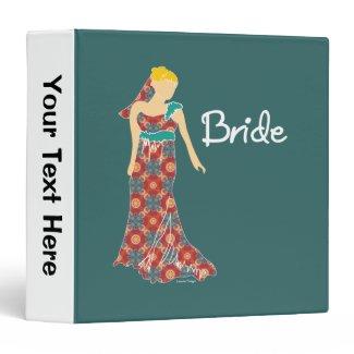 Bride Vinyl Binder
