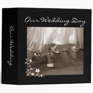 Bride Walking Large Our Wedding Day Binder