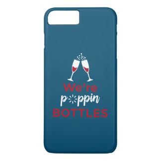 Bride Wedding Bachelorette Party Pop The Bubbly iPhone 8 Plus/7 Plus Case