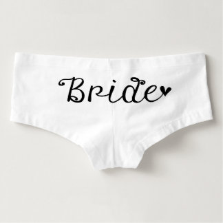 Bride Wedding Boy Shorts Undergarment Hot Shorts