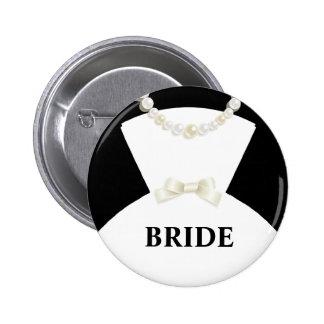 Bride Wedding Button Pinback Button