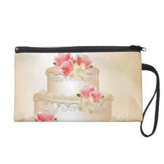 Bride Wedding Cake Wristlet
