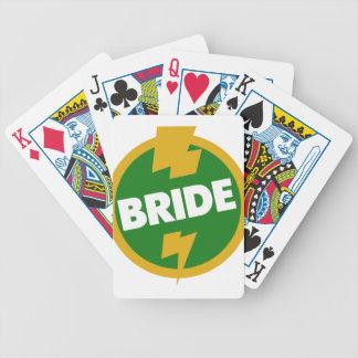 Bride Wedding - Dupree Bicycle Playing Cards