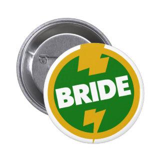 Bride Wedding - Dupree Pinback Buttons