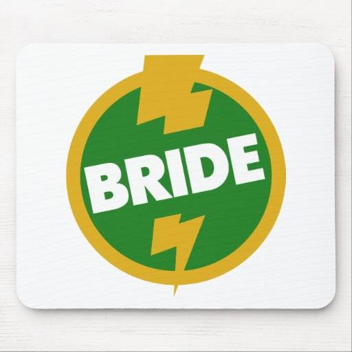 Bride Wedding - Dupree Mousepad