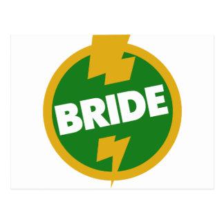 Bride Wedding - Dupree Postcard