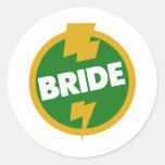Bride Wedding - Dupree Sticker