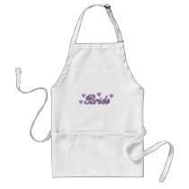 Bride Wedding Hearts Adult Apron
