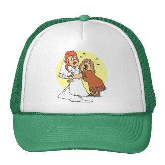 Bride wedding humor trucker hat