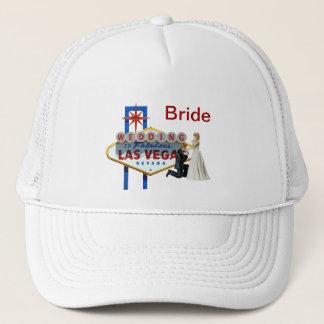 """""""Bride"""" Wedding in Las Vegas Hat"""