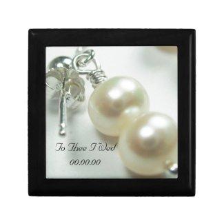 Bride, Wedding Keepsake Jewelry Box