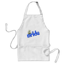 Bride Wedding Kitchen Barbeque Apron