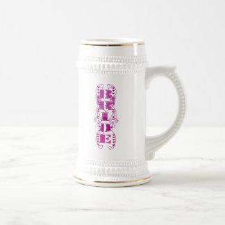 Bride Wedding Stein Coffee Mugs