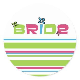 Bride Wedding Stickers sticker