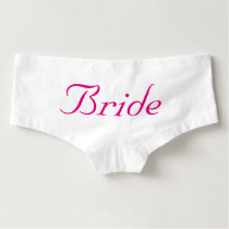 Bride, Wedding Theme Boyshorts