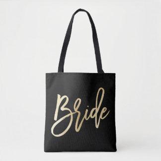 Bride Wedding Tote Bag