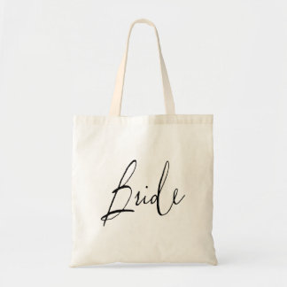Bride Wedding Tote Bag