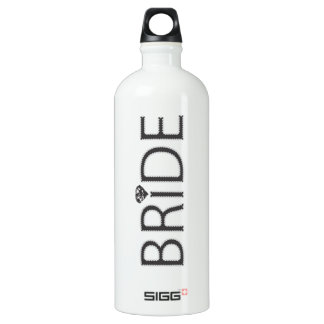Bride with Bling Water Bottle