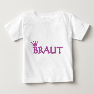 bride with crown icon baby T-Shirt