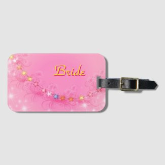 Bride With Stars Bag Tag