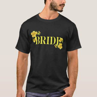 Bride yellow T-Shirt