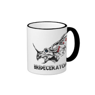 Brideceratops Ringer Coffee Mug