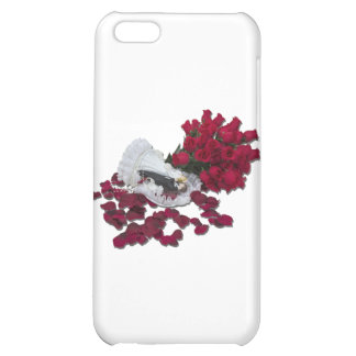 BrideGroomCakeTopperRoses100711 Case For iPhone 5C