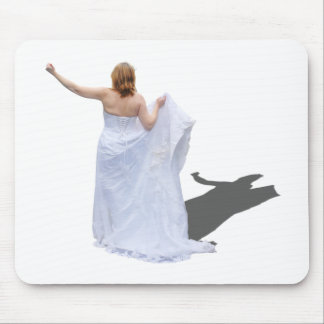 BrideHitchhike010910 Mouse Pad