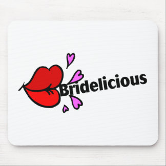 Bridelicious (Red) Mouse Pad
