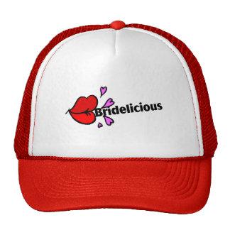 Bridelicious (Red) Trucker Hat