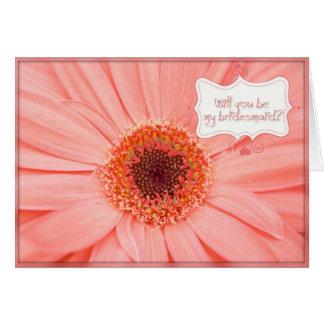 Bridemaid Needed Card