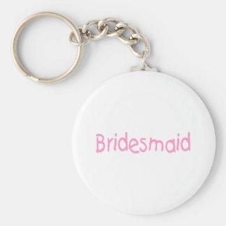 Bridemaid (Pink) Keychain