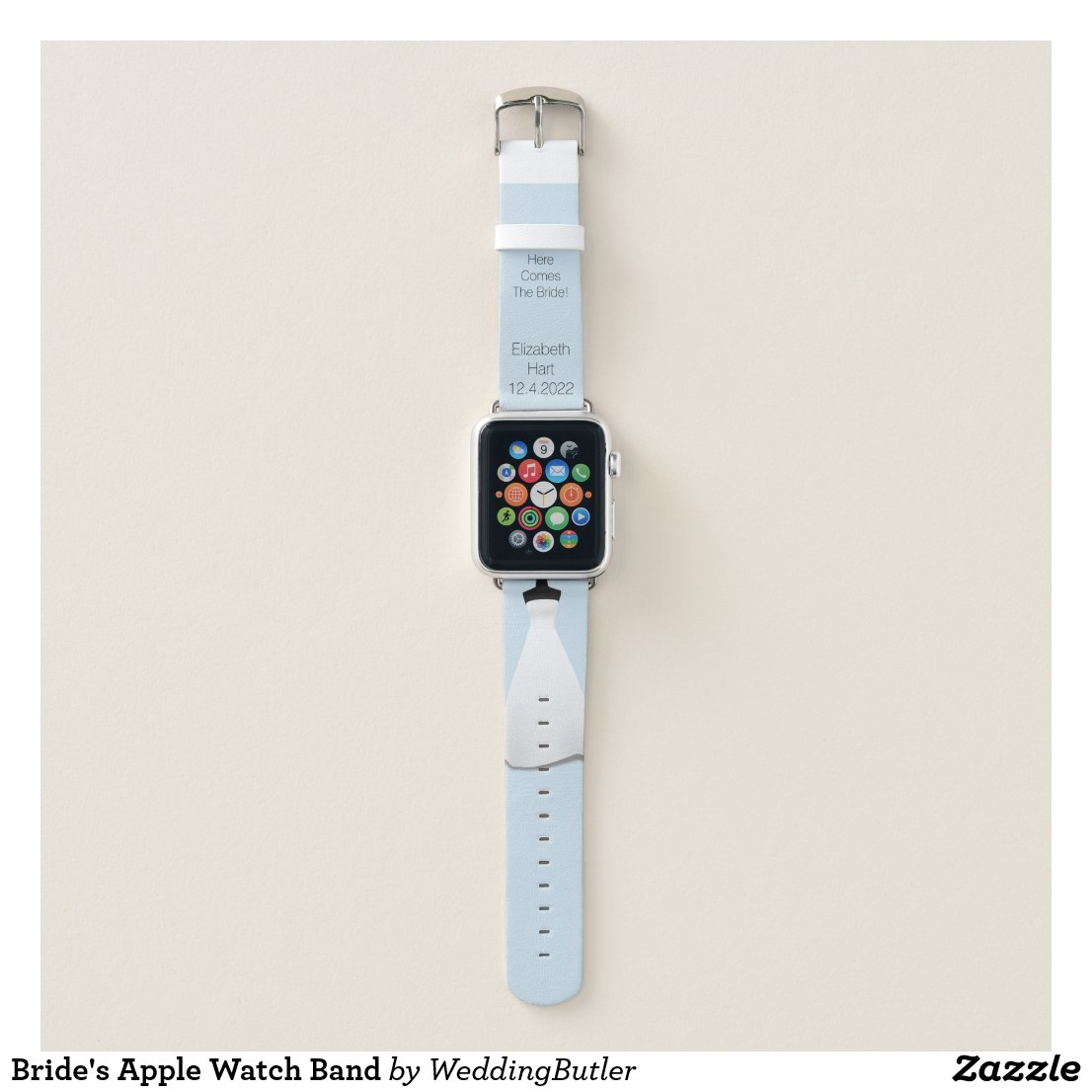 Bride's Apple Watch Band