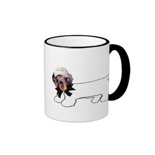Bride's Autograph Hound Coffee Mugs
