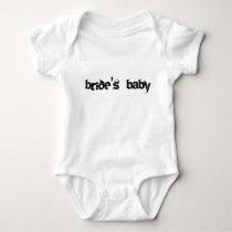 brides baby baby bodysuit