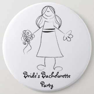 Bride's Bachelorette Party Button