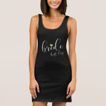 Bride's Best Day - Gold Heart - T-Shirt Dress