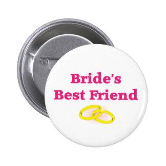 Bride's Best Friend 2 Inch Round Button