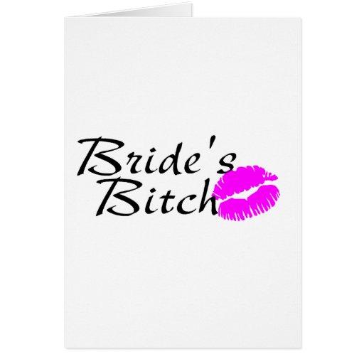 Brides Bitch (Kiss) Card