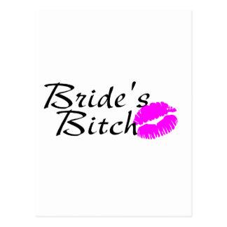 Brides Bitch (Kiss) Postcard
