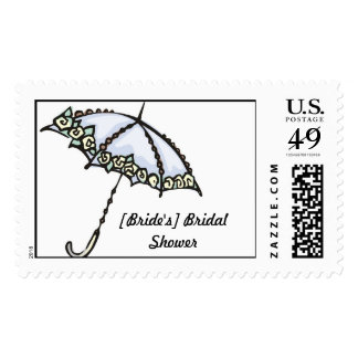 [Bride's] Bridal Shower Postage