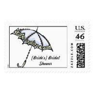 [Bride's] Bridal Shower Stamp