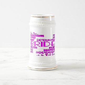 Brides Bridal Showers Wedding Parties : Qualities Beer Stein