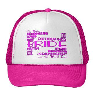 Brides Bridal Showers Wedding Parties : Qualities Trucker Hat