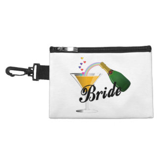 Brides Champagne Toast Accessories Bag