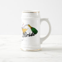 Brides Champagne Toast Beer Stein